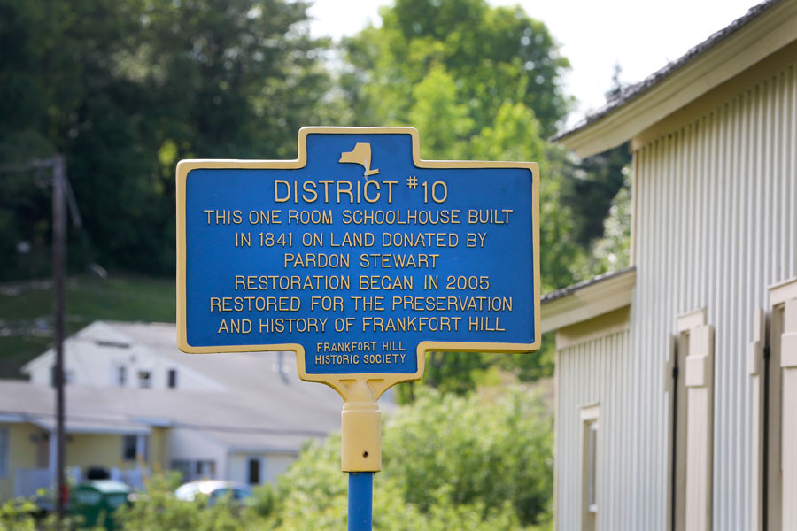 Disctrict #10 Historic Society Sign