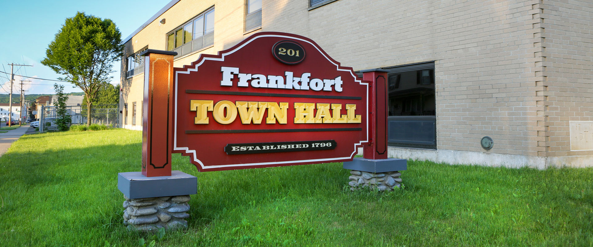 Welcome To The Town Of Frankfort New York